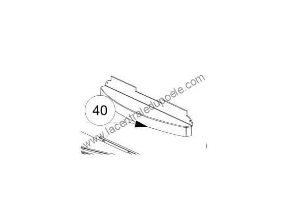 Deflecteur air vitre ecologica - ref 3277034