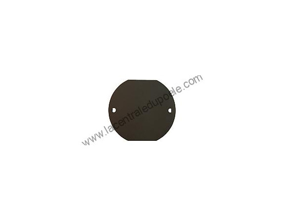 Cache plaque noir Aduro - ref 51119