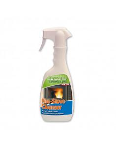 Spray lave-vitre pour poêles